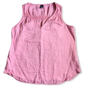 GAP linen tank top XXL EUC